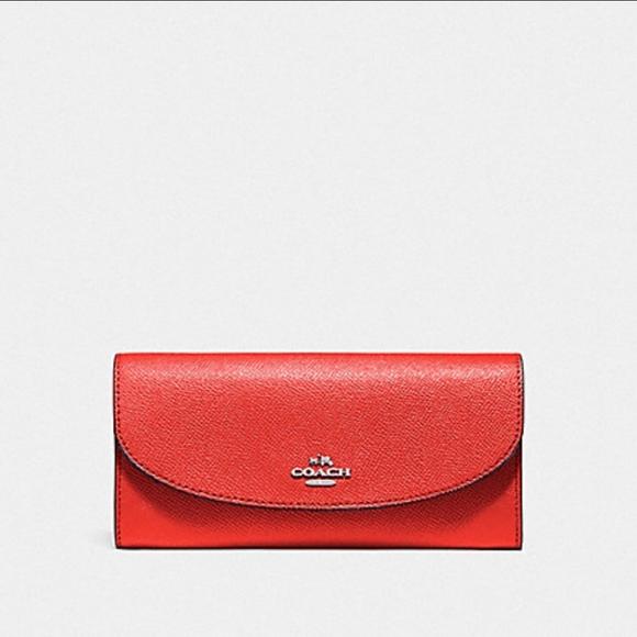 Coach Watermelon Slim Envelop Wallet